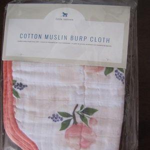Little Unicorn Cotton Muslin Burp Cloth Bib